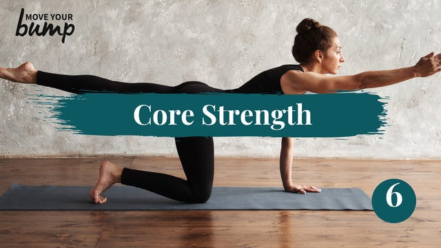 Core Strength & Posture Workout #6
