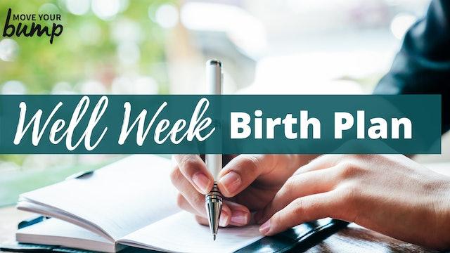 Create Your Birth Plan