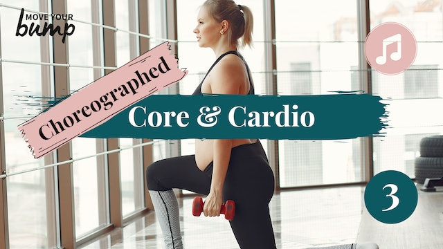 All Trimester - Choreographed Core & Cardio Training Workout 3