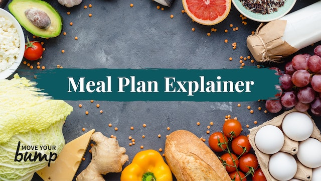 Meal Plan Explainer Video