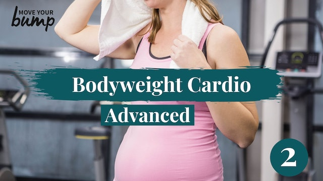 Bodyweight Pregnancy Cardio Advanced #2