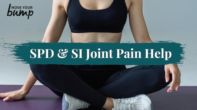 SPD & SI Joint Pain Help