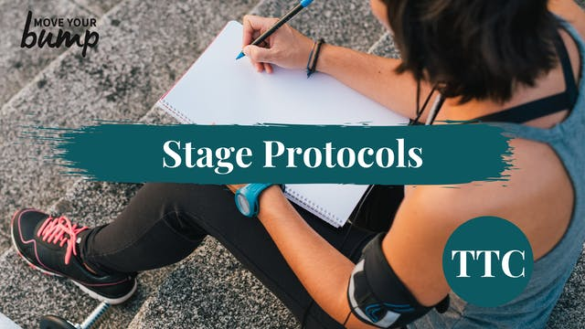 Stage Protocols for the TTC Phase
