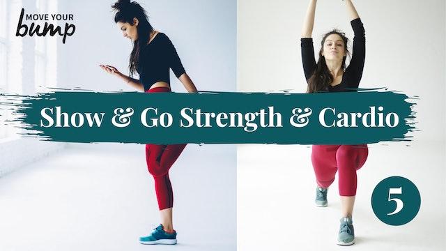 Strength & Cardio Legs & Butt Workout 05