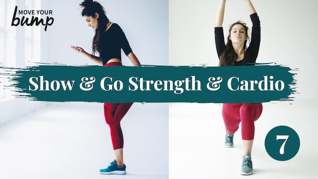 Core Strength & Cardio Workout 07