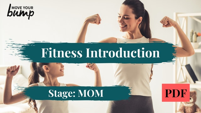 Fitness Introduction Guide (MOM)