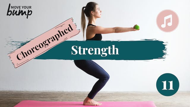 Strength Choreographed Workout #11