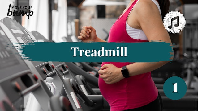 Treadmill Labor Training Cardio Workout 1