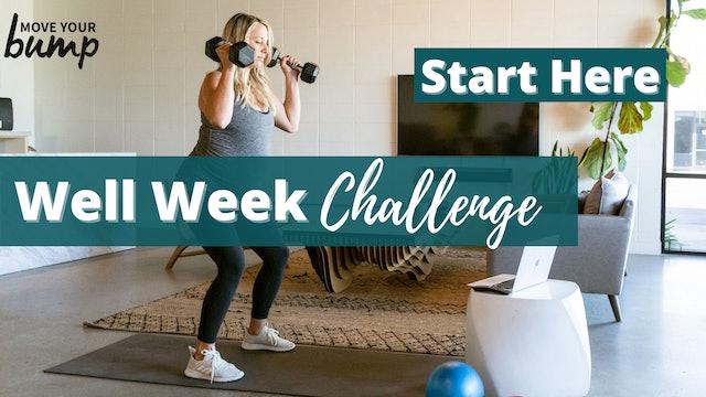 Well Week Challenge Info