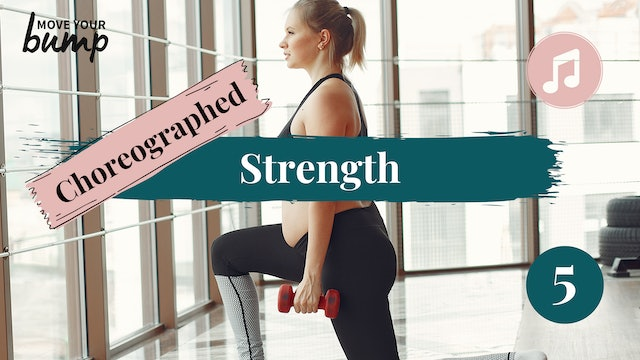Choreographed Strength Workout  (Intermediate/Advanced) 05