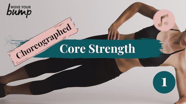 New! Choreographed Core Strength Focu...