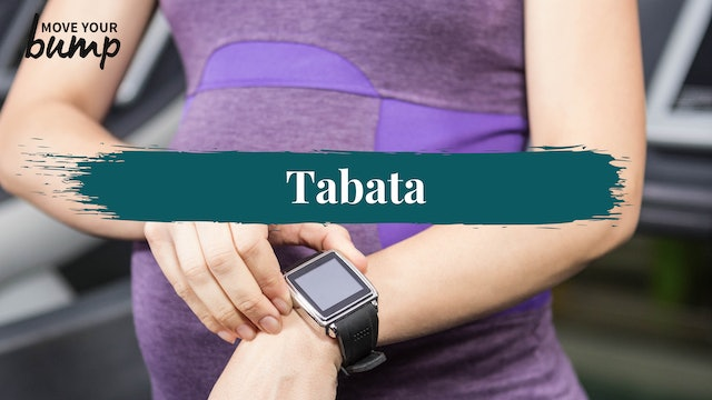 Tabata Labor Training Cardio Workout