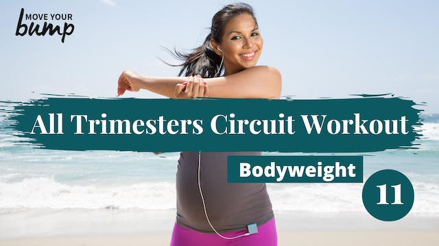 Lower Body Bodyweight Circuit 11