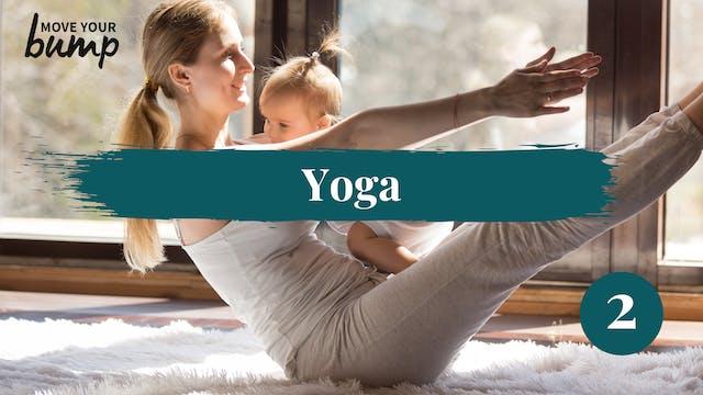 Postnatal Yoga Flow 2