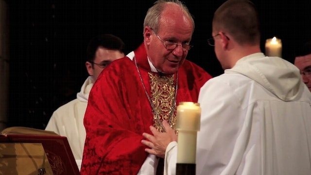 Cardinal Schonborn on his Dominican background