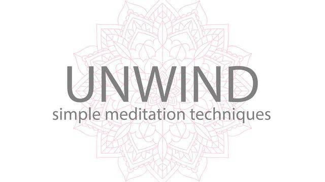 UNWIND MEDITATION COURSE   LEFT NOSTRIL BREATHING