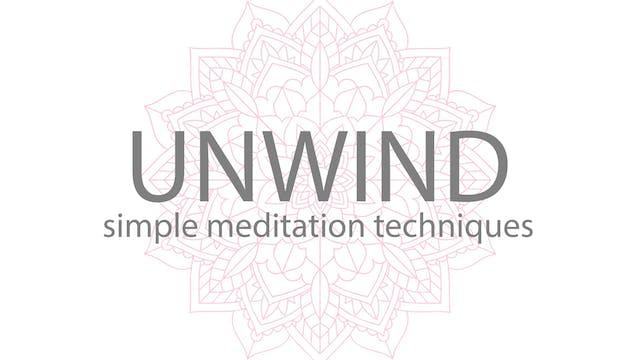 UNWIND MEDITATION COURSE   10 FULL BREATHS