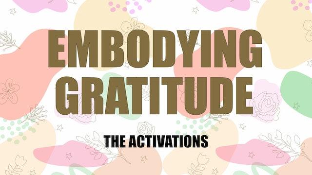 Embodying Gratitude Activation 8