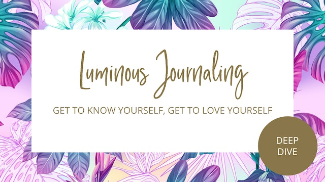 Day 3 - Get To Know Yourself, Get To Love Yourself Journal Prompts