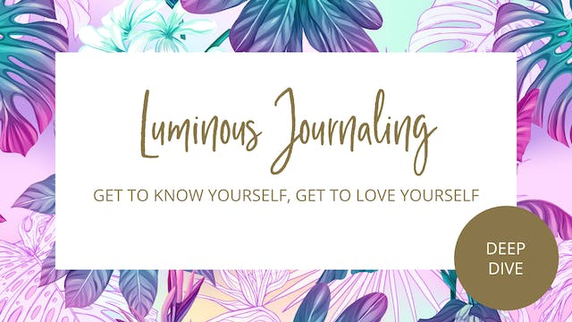Day 28 - Get To Know Yourself, Get To Love Yourself Journal Prompts