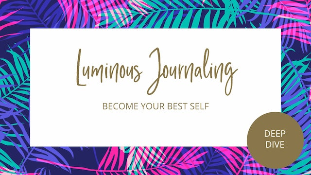 Day 1 - Become Your Best Self Journal Prompt