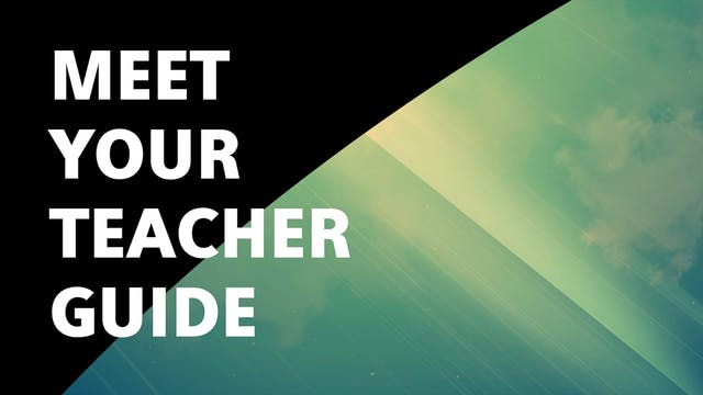 Meet Your Teacher Spirit Guide Meditation