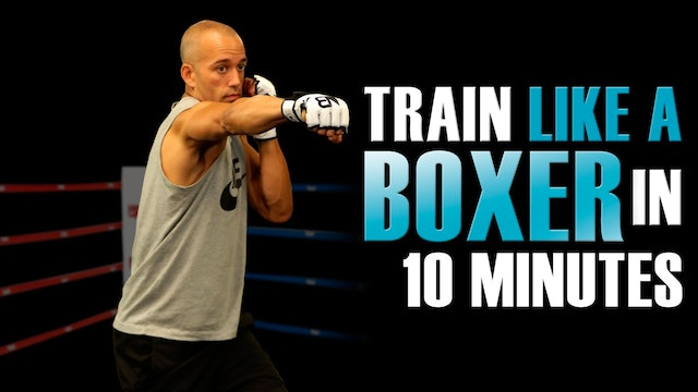 10 MIN SHADOW BOXING WORKOUT FOR BEGINNERS AT HOME