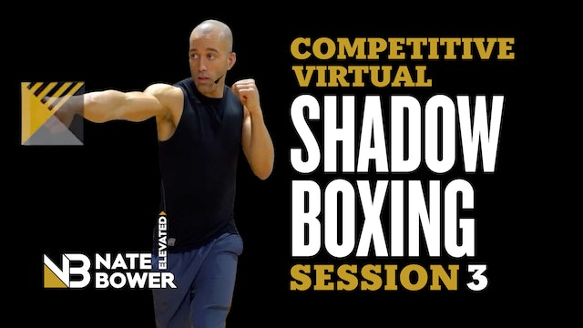 Competitive Virtual Shadow Boxing Session 3