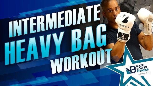 Ultimate 20 Minute Intermediate Heavy Bag Workout
