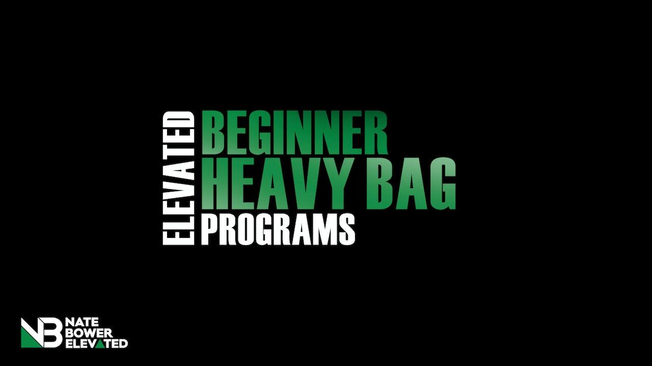 Elevated Beginner Heavy Bag Program 10 Day Program