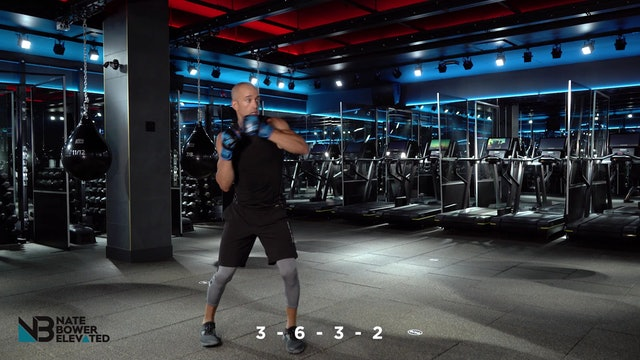 Challenge #2 - One non stop boxing combo