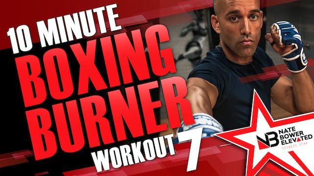 10 Minute Boxing Burners Workout 7