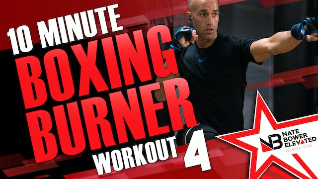 10 Minute Boxing Burners Workout  4