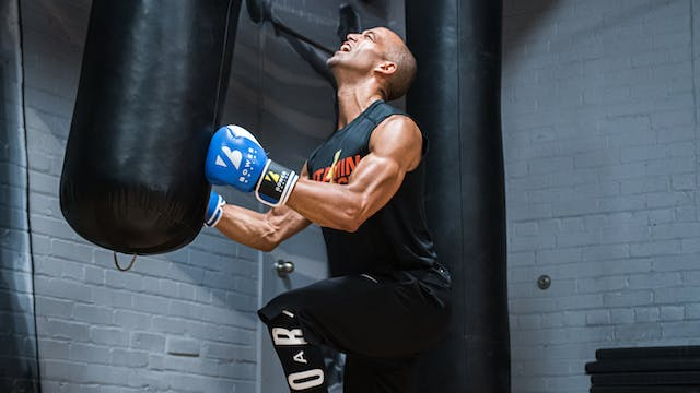 20 Minute Aqua Heavy Bag Boxing Workout