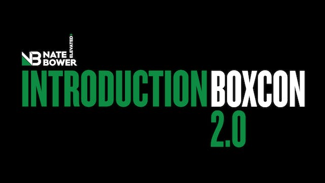 Boxcon 2.0 Introduction