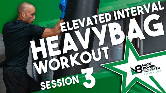 Elevated Heavy Bag  Interval Boxing W...