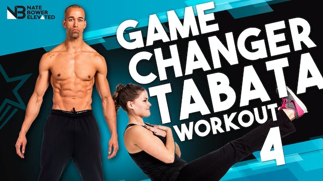 Game Changer Tabata Workout 4 - No music
