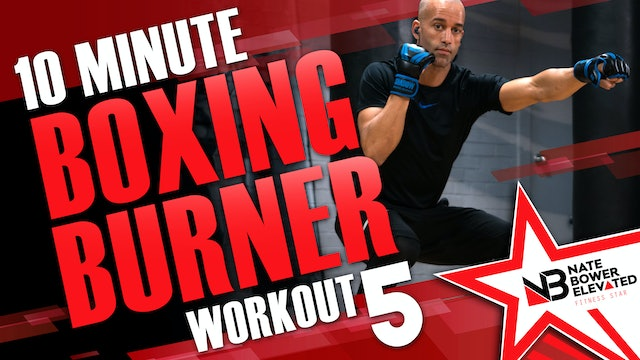 10 Minute Boxing Burners Workout 5