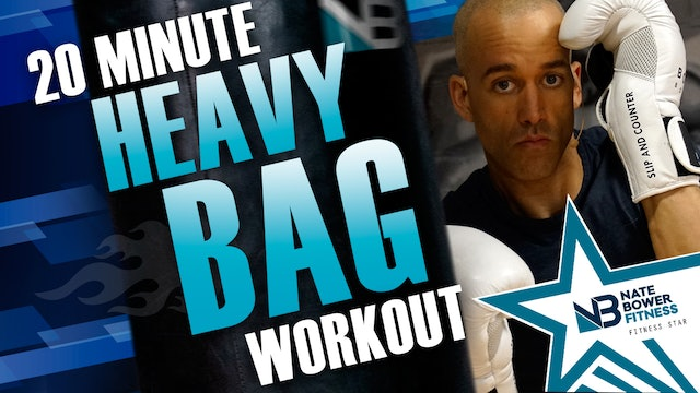 20 Minute Heavy Bag Boxing Workout | All Boxing Combos