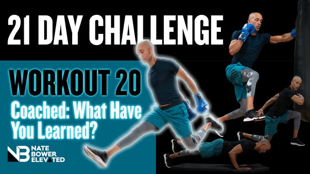 21 Day Challange Day 20-Coached
