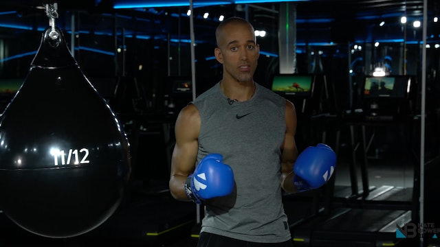 3-or 36 Minute Kick Start Interval Boxing Workout