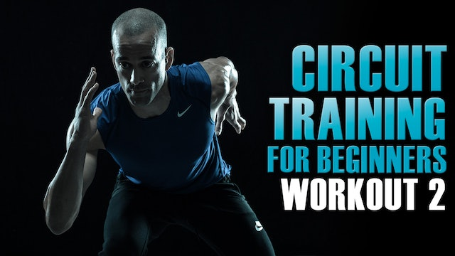 Circuit training for beginners at home Part 2