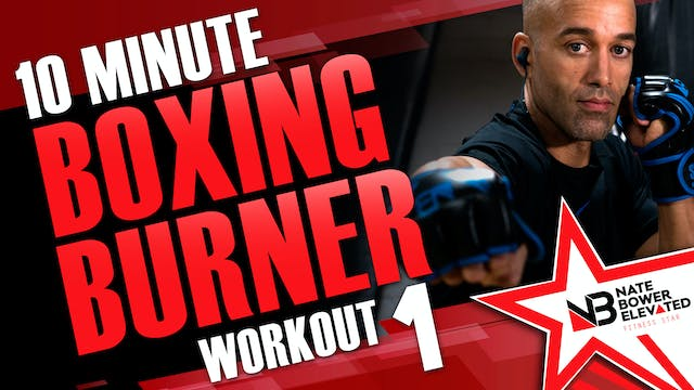 10 Minute Boxing Burners Workout 1