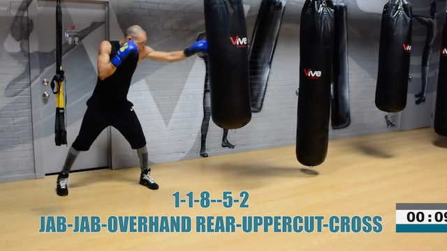 Ultimate 20 Minute Heavy Bag Workout Round 5