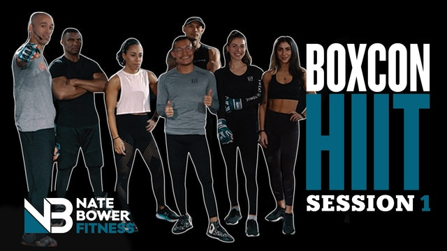 40 Minute Boxcon HIIT Workout