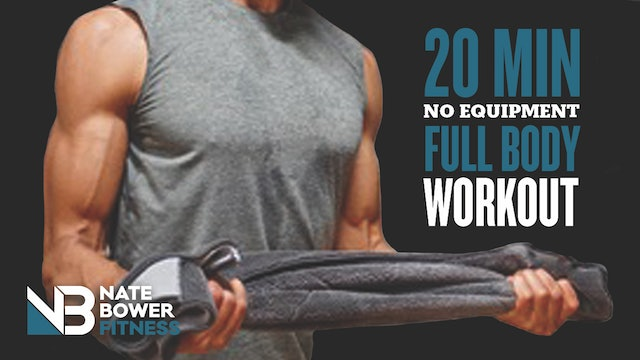 Ultimate 20 MINUTE Full Body Towel Workout