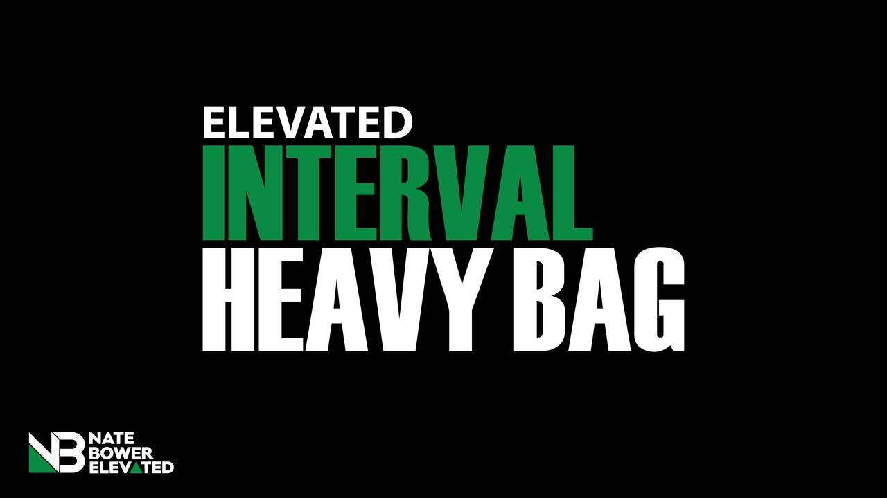 Elevated Interval Heavy Bag Boxing Workouts