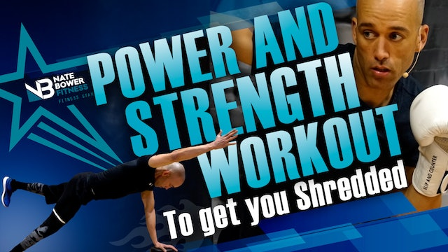 Power and Strength Boxing Workout | Get Shredded