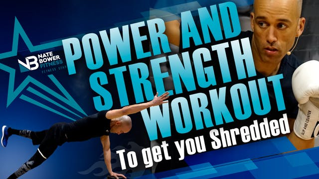 Power and Strength Boxing Workout | G...