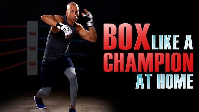 HIIT Boxing Workout At Home No equipm...
